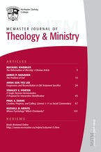 McMaster Journal of Theology and Ministry: Volume 13, 2011–2012