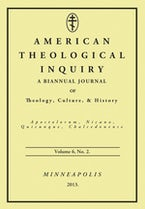 American Theological Inquiry, Volume Six, Issue Two