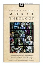 Journal of Moral Theology, Volume 1, Number 1