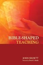 Bible-Shaped Teaching