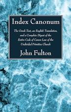 Index Canonum