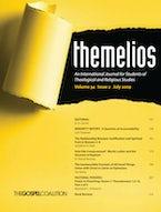 Themelios, Volume 34, Issue 2