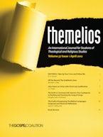 Themelios, Volume 37, Issue 1