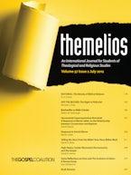 Themelios, Volume 37, Issue 2