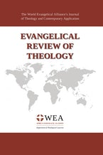Evangelical Review of Theology, Volume 45, Number 2, May 2021