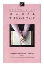Journal of Moral Theology, Volume 10, Special Issue 1