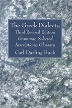 The Greek Dialects, Third Revised Edition