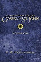 Commentary on the Gospel of St. John, Volume 1