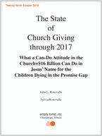 The State of Church Giving through 2017