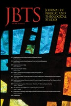 Journal of Biblical and Theological Studies, Issue 4.2