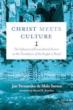 Christ Meets Culture