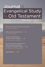 Journal for the Evangelical Study of the Old Testament, 7.1