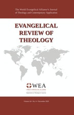 Evangelical Review of Theology, Volume 44, Number 4, November 2020